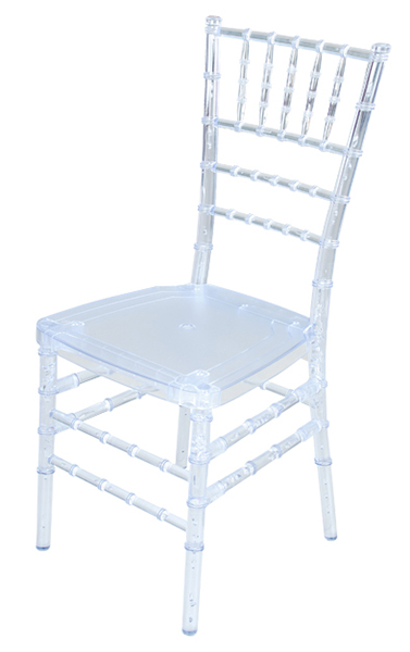 Alquiler de silla tiffany alquiler de sillas para eventos for Sillas cristal